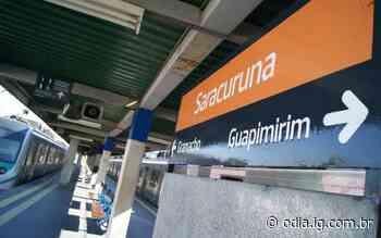Trem da SuperVia não vai até a estação de Guapimirim desde abril - O Dia