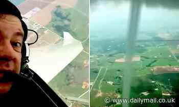 Gilder pilot captures stunning footage of landspout tornado in Oklahoma