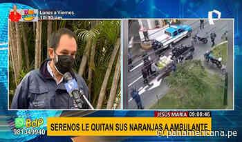 Municipalidad de Jesús María responde sobre presunto abuso de autoridad contra comerciante - Panamericana Televisión
