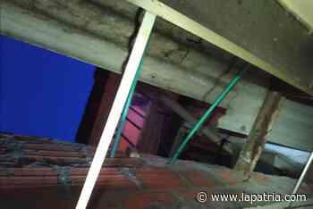 11 viviendas resultaron afectadas tras la granizada de ayer en Manizales - La Patria.com