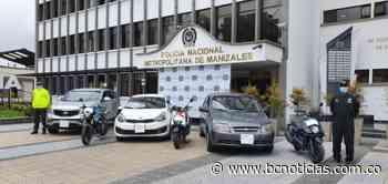 En Manizales encontraron varios vehículos y motocicletas robadas - BC Noticias