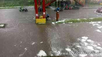 Aguacero causó inundaciones y caída de árboles en Manizales - BC Noticias