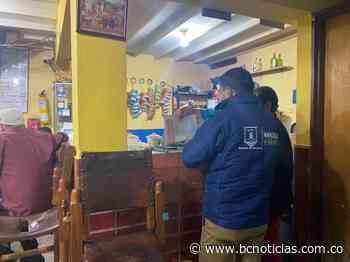 Aplicaron comparendos a dos locales en Manizales por incumplir protocolos - BC Noticias