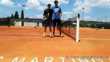 San Martino in Campo: Baldoni 'battezza' la nuova terra rossa dell'Asd Country Tennis Sporting Club - PerugiaToday
