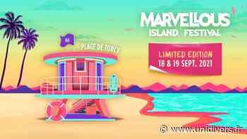 Marvellous Island 2021 : Limited Edition Plage de Torcy samedi 18 septembre 2021 - Unidivers