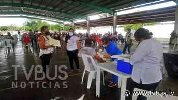 Inicia en Loma Bonita, vacunación de adultos de los 40 a los 49 años - TV BUS Canal de comunicación urbana