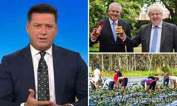 Karl Stefanovic slams UK-Australia trade deal which will see compulsory farm work SCRAPPED