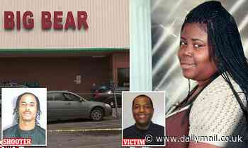 PICTURED: Cashier, 41, who was fatally shot and deputy wounded by gunman told to pull his mask up