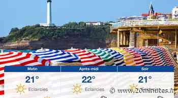 Météo Biarritz: Prévisions du mardi 15 juin 2021 - 20minutes.fr