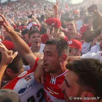 Un derby fou permet à Biarritz de remonter en Top 14 - L'Équipe.fr