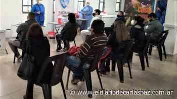 Cosquín alcanzó los 10 mil vacunados contra el coronavirus - El Diario de Carlos Paz
