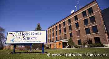 COVID-19 outbreak declared at Hotel Dieu Shaver Hospital in St. Catharines - StCatharinesStandard.ca