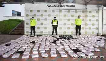 Incautan cargamento de más de 200 kg de marihuana en Dosquebradas - Caracol Radio