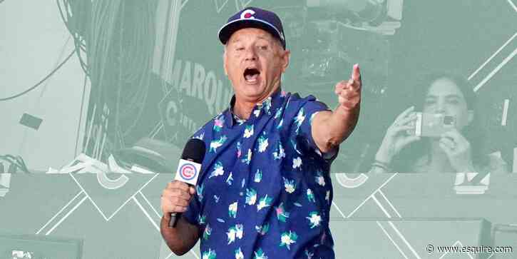 Bill Murray Is Making a Strong Case to Be the New Chicago Cubs GM - Esquire