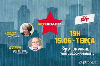 PT Cidades de hoje entrevista José de Filippi, prefeito de Diadema - Partido dos Trabalhadores