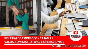 AST Consultoria abre novas vagas administrativas em Cajamar - 14/06 - Cajamar Notícias