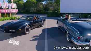 David Hasselhoff Brings KITT To Interview, Confirms Knight Rider Reboot Is Happening - CarScoops