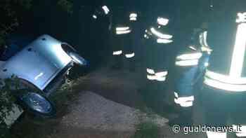 Gualdo Tadino, auto si ribalta con quattro ragazzi a bordo - Gualdo News