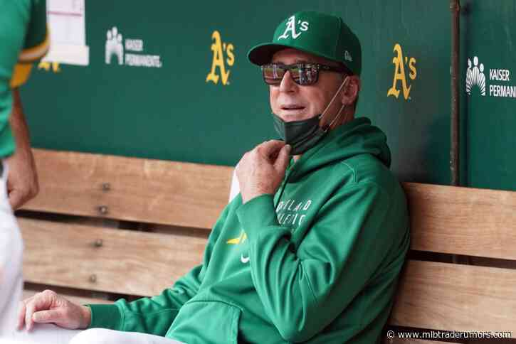 Athletics Exercise 2022 Option On Bob Melvin's Contract