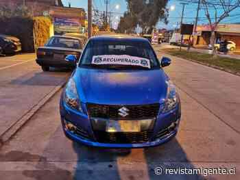Carabineros de la 52 Comisaría de Rinconada de Maipú recuperan vehículos robados - Revista Mi Gente