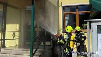 Gilching: Feuer im Hotel-Außenbereich - aufmerksamer Mitarbeiter reagiert sofort - Merkur.de