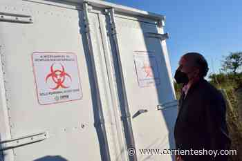 Llegó a Mercedes un nuevo contenedor de almacenamiento para residuos patológicos - CorrientesHoy.com