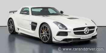 Venden este Mercedes SLS AMG Black Series con apenas ¡282 kilómetros! - caranddriver.es