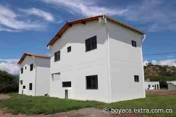 En Sopetrán, Antioquia, 35 familias tienen vivienda nueva con reubicación de proyecto - Extra Boyacá