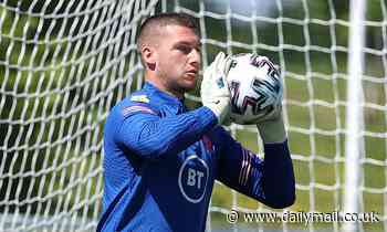 Sam Johnstone was pushing to be England's No 2 goalkeeper BEFORE Dean Henderson pulled out