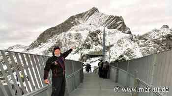 Manfred Michel: Der Chef auf dem Alpspix über Garmisch-Partenkirchen - Merkur.de