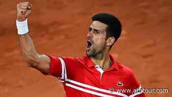 Novak Djokovic Regains Race Lead As Nitto ATP Finals Battle Intensifies - ATP Tour
