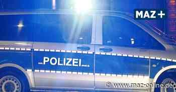 Drogenfahrt endet in Wustermark - Märkische Allgemeine Zeitung