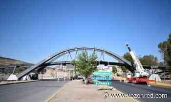 Tiene 70% de avance la construcción del puente en el parque Encino - Reliz - voz en red