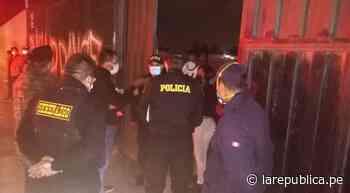 Chiclayo: más de 100 personas intervenidas fiesta COVID-19 - LaRepública.pe