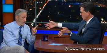 Jon Stewart Riffs on Coronavirus Lab Theories and Vaccine Science on 'The Late Show' - IndieWire