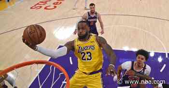 LeBron James Named to All-NBA Second Team