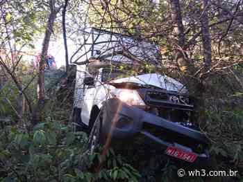 Caminhonete sai da pista e deixa uma pessoa ferida em Barra Bonita - WH3