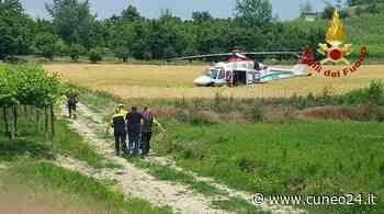 Monforte d'Alba, vigili del fuoco di Cuneo intervengono nella ricerca di un anziano - Cuneo24