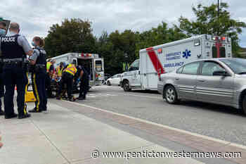 Child OK after being hit by car in Vernon – Penticton Western News - Penticton Western News
