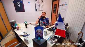 Denain: Dimitri suivra les Bleus jusqu'au bout de l'Europe, et commence à Munich - La Voix du Nord