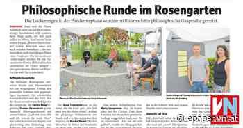 Philosophische Runde im Rosengarten - Vorarlberger Nachrichten   VN.AT