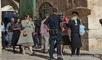 Colonos asaltan los patios de la mezquita de Al Aqsa - Al Mayadeen Español