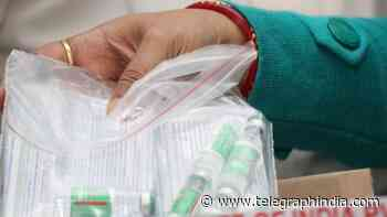 Covid: Health ministry records India's first vaccine-related death - Telegraph India