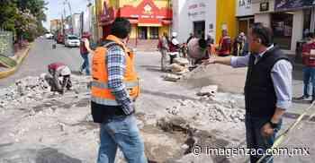 Ayuntamiento de Guadalupe mantiene vigente el Programa de Bacheo Permanente - Imagen de Zacatecas, el periódico de los zacatecanos