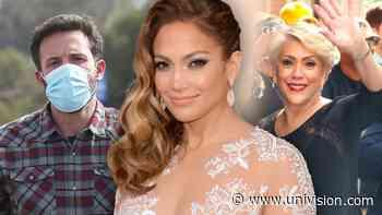 """Los fans de JLo y Ben Affleck no son los únicos, dicen que la mamá de la cantante está """"emocionada"""" con el romance - Univision"""