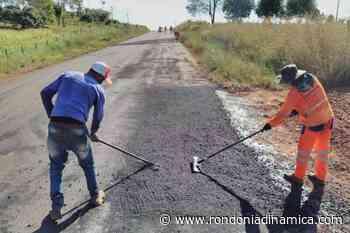 DER conclui operação tapa-buracos na rodovia 010, entre Novo Horizonte do Oeste e Migrantinópolis - Rondônia Dinâmica