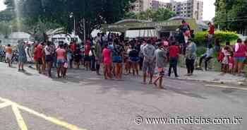 Vídeo:Moradores do conjunto habitacional Novo Horizonte realizam manifestação em Campos - NF Notícias
