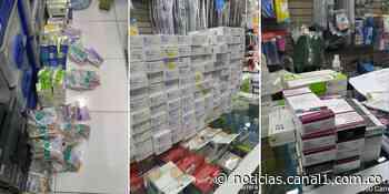 Gobernación de Cundinamarca decomisa más de 27 mil productos farmacéuticos en Chía - Canal 1