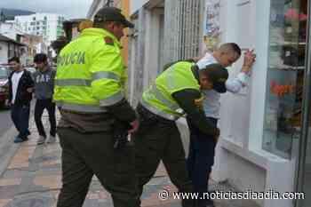 Policía de Chía realizó actividades de prevención y control delincuencial - Noticias Día a Día
