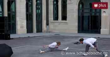"""""""Footprint"""" am Kulturbahnhof: Tanzen fürs Klima - Schwäbische"""